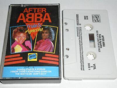 After Abba - Frida and Agnetha - The Solo Work Volume 1 Cassette Tape DTO10301A