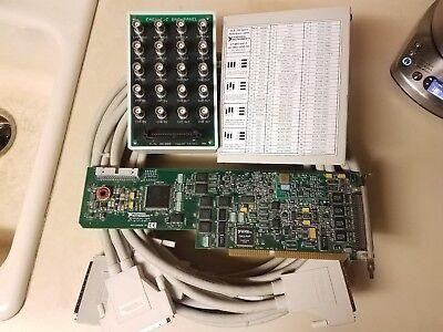 National Instruments At-mio-64e-3 100 Channel Daq Bundlescb-100 Bnc 25m Cbls