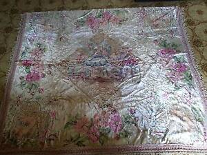 Vintage Traditional Italian Bedspread Rug Wallhanging c1950s Cannon Hill Brisbane South East Preview