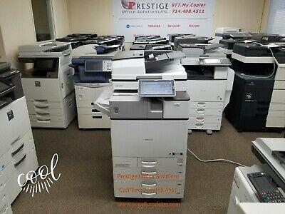 Ricoh Mp C3004 Copier Printer Scanner With Inner-stapling Finisher. Meter 63k