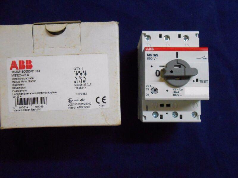 ABB MS325-25 (1SAM150000R1014) Manual Motor Starter - NEW