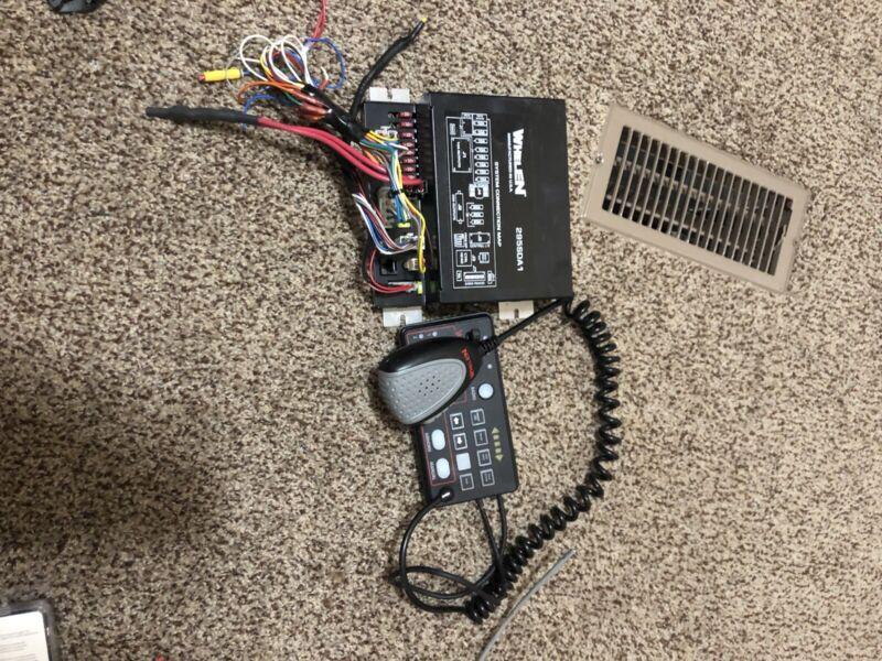 whelen 296SDA1 Controller/ Dual Siren