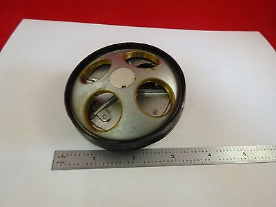 For Parts Microscope Nosepiece Turret Nikon Japan As Is Binl3-e-13