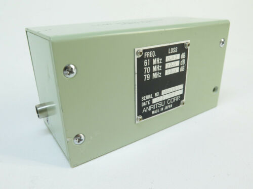 Anritsu MA410A - Low Pass Filter