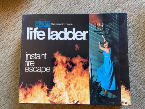 """American LaFrance """"Life Ladder"""" Instant Fire Escape - 15 feet"""
