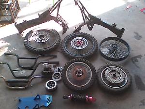 Pit bike parts /motor Bike rain suit Logan Village Logan Area Preview