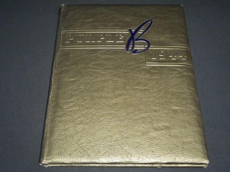 1944 THE PURPLE BOGOTA HIGH SCHOOL YEARBOOK - NEW JERSEY - PHOTOS - YB 958