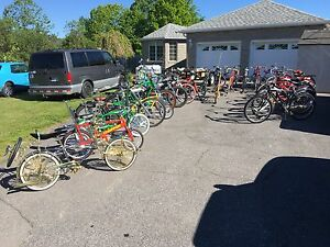 Selling off some of my amazing bicycle collection