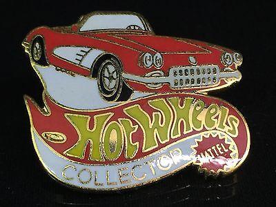 Vintage Hot Wheels Collector 58 Corvette Hat Lapel Pin - Mint