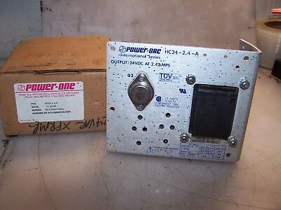 New Power One 24 Vdc 2.4 Amp Output Dc Power Supply 120240 Input Hc24-2.4-a