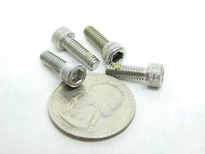 45 Pcs 8-32 X 12 Socket Head Cap Screw Stainless W Nylok Nylon Patch Nh