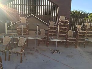 14 tables and 38 chairs Main Beach Gold Coast City Preview