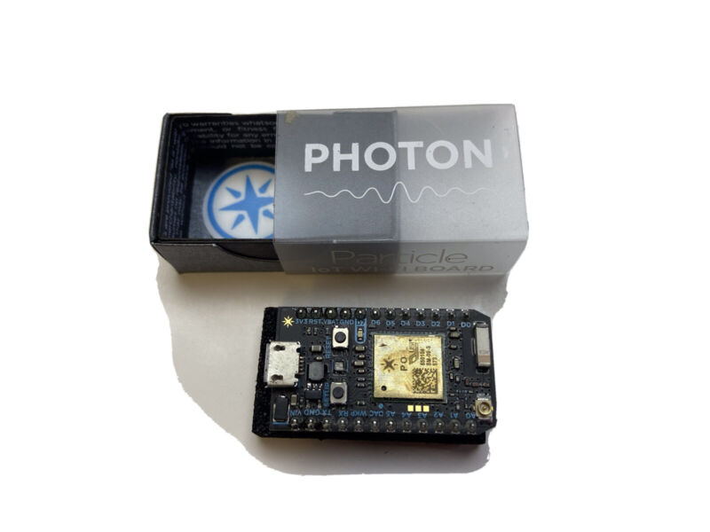 Particle Photon W/ headers