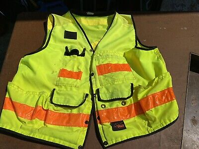 Seco Class Safety Utility Vest Size Work Survivalist Shop Truck Xl