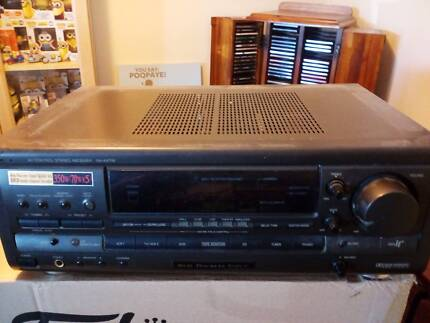 Technics stereo receiver SA ax710