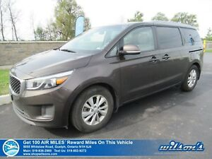 2018 Kia Sedona LX | POWER SEAT | HEATED SEATS | BLUETOOTH | REA