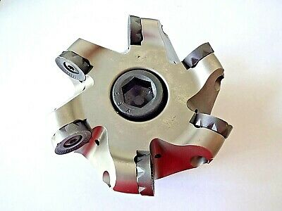 Ingersoll 4 Face Mill 5w6n-40r01 Form Master Wave Indexable Button Cutter