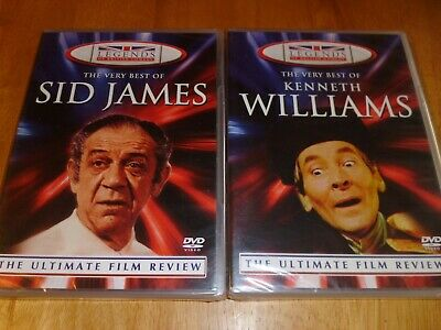 Sid James / Kenneth Williams  - Legends Of British Comedy DVD's NEW
