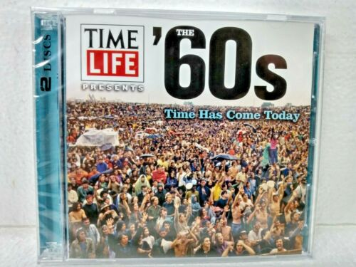 Time Life Presents The 60s Time Has Come Today 2 Disc CD Set - Sealed New