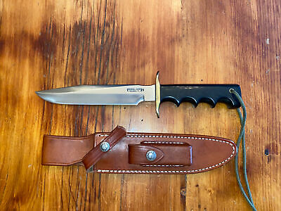 RANDALL MADE KNIVES Model 16 SP # 1 Special Fighter S/S With Sheath And Stone.