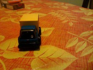 vintage Japan tonka truck blue/yellow