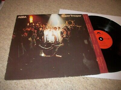 ABBA- SUPER TROUPER VINYL ALBUM