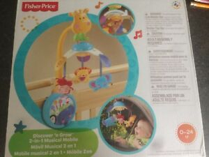 Fisher price discover n grow 2 in 1 musical mobile
