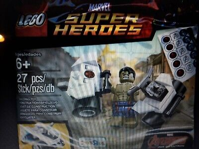 """LEGO® Marvel Super Heroes """"Hulk Toys R Us Exclusive Polybag"""" 5003048 New Sealed"""