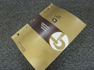 John Deere 990 Excavator W 8955 8955tt Engine Service Repair Manual Ctm10