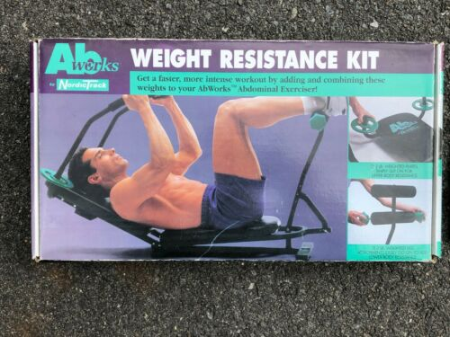 Nordic Track Ab Works Weight Resistance Kit Complete