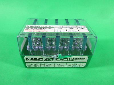Megatool Drill Bits -- St1 0120 -- Lot Of 50 New
