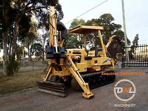 VERMEER RTX450 TRENCHER TRENCH DIGGER BACKHOE EXCAVATOR BOBCAT Austral Liverpool Area Preview