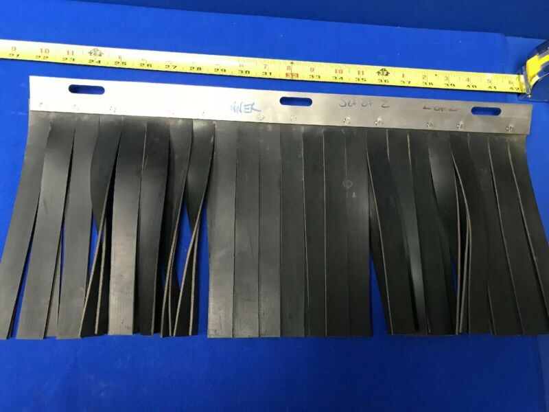 """INNER LEAD CURTAIN FOR X-RAY INSPECTION EQUIPMENT 20""""L X 8""""H"""