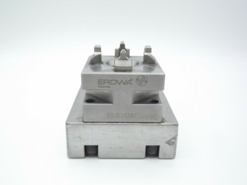 Genuine Erowa ER-034387 Quick Chuck 50 EDM WEDM with Fixture