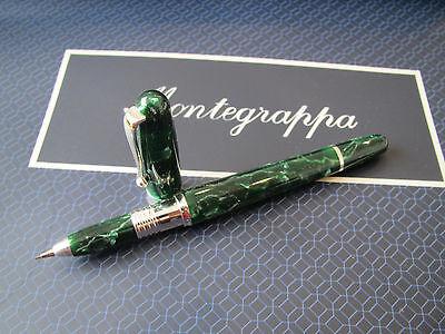 Montegrappa Liberty Malachite Mini celluloid mechanical pencil 0.7mm MIB