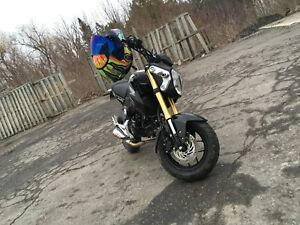 2014 Honda Grom,  $2700 low km with lots of extras
