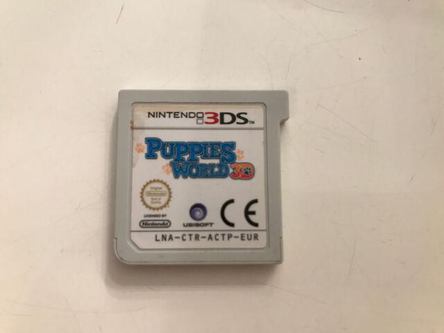 Nintendo 3DS Spiel - Puppies World 3D