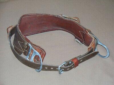 Bashlin 1511n-d24 The Wrangler 2 D-ring Linemen Tool Belt Climbing Equipment