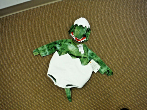 New Pottery Barn Kids Baby Egg Dino Halloween Costume 6-12 Months