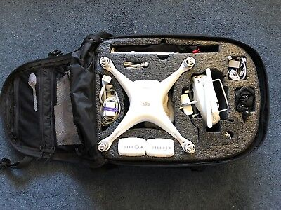 DJI Phantom 4 Pro Drone Complete Bundle including iPad Mini and 5.11 Backpack