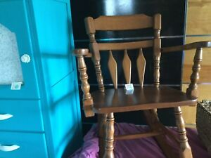 Rocking chair- solid wood
