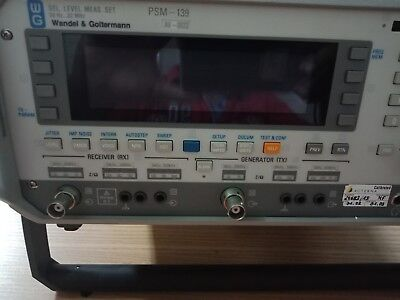Acterna Wandel Goltermann Psm-139 Selective Level Meter Used
