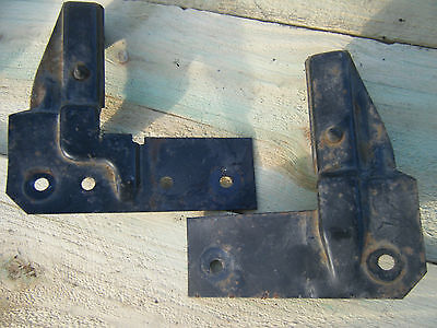 1995 96 97 98 99 00 Chevy Truck Radiator Hold Down Brackets Support Silverado