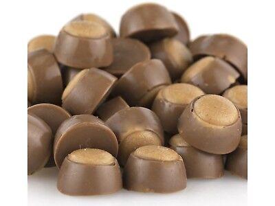 Mini Peanut Butter Buckeyes Milk Chocolate 2 pound buck eyes peanut butter candy