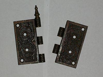 Antique Eastlake 4 1/2 x 5 Hinge Minus Pin