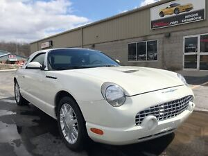 2002 Ford Thunderbird Removable Top Clean Car