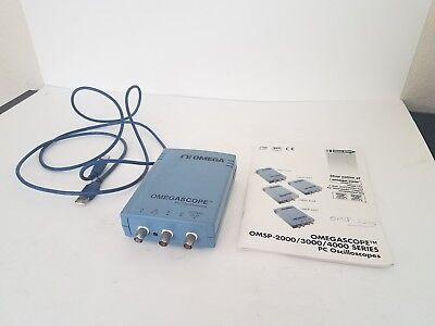 Omega Two Channel Pc Oscilloscope With Arbitary Waveform Generator 10mhz Pico