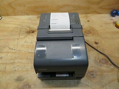 Epson Tm-h6000iv Pos Thermal Receipt Printer M253a No Adapter