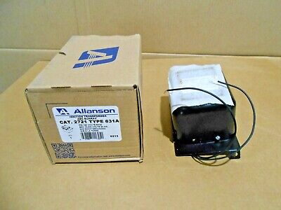 1 Nib Allanson 2721631a Ignition Transformer 120v 23ma Mid Pt Grounded