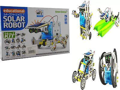 14-1 Educational Solar Powered Robot Kit